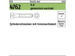Sechskantschrauben verzinkt UNC 7//16 x 1.1//4 Stahl 8.8