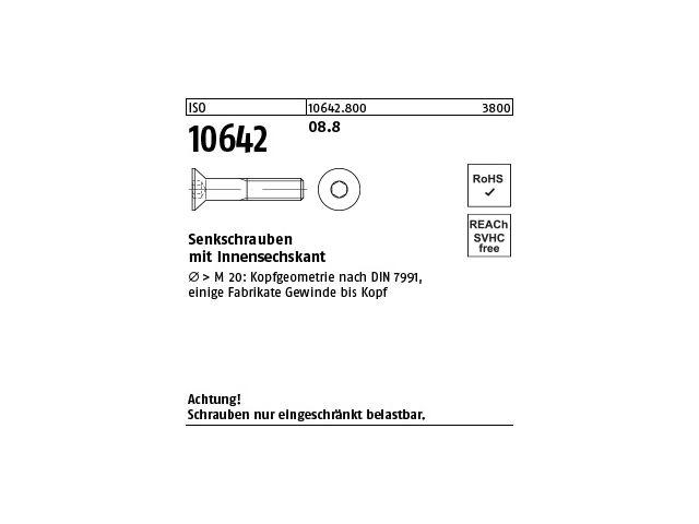 ISO 4017 10.9 galvanisch verzinkt Sechskantschrauben mit Gewinde bis Kopf