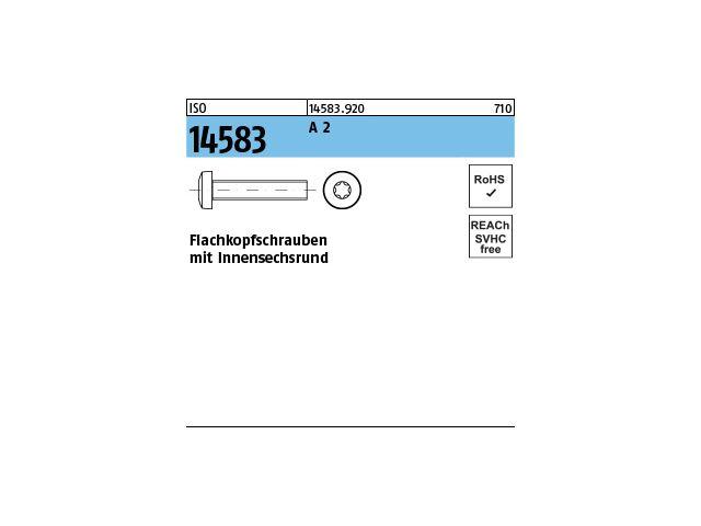 Edelstahl A2 mit Schlitz M 3x  5 1000 Stück Flachkopfschrauben DIN 85