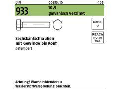 get Zylinderschrauben mit Innensechskant ISO 4762 10.9 St galv M10 verz