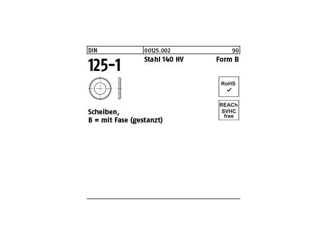 DIN9021 Unterlegscheiben Breite Edelstahl A4 ähnlich ISO7093