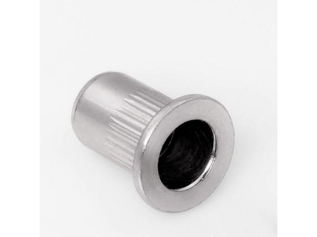 M5 0.5-3.0 mm 250 St/ück Blindnietmuttern Kleiner Mini Senkkopf Offen Stahl
