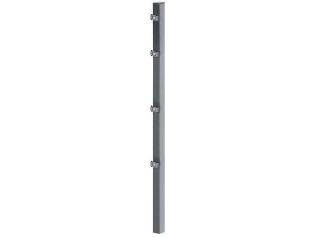 60x40-1000 für 600mm Zaunhöhe Grün Flacheisen Zaunpfosten m