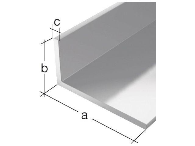 winkelprofil ungleichschenklig alu silber eloxiert 50x30x3 0mm 20. Black Bedroom Furniture Sets. Home Design Ideas