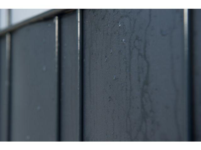 Sichtschutz Premium-Line 35m Rolle Blickdicht Doppelstabmattenzaun RAL6005