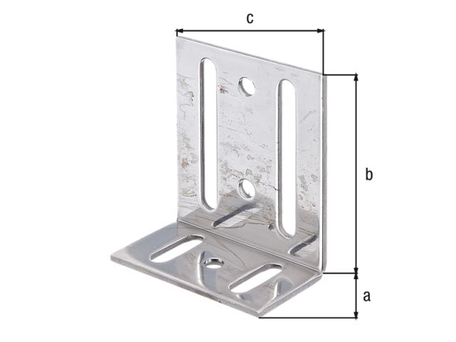 Holzverbinder GAH Verstellwinkel mit Langloch Verstellbar Winkel
